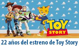 22 de Noviembre. 22 años del estreno de Toy Story