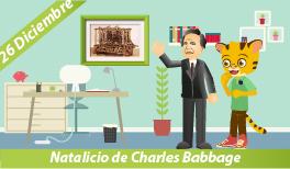 26 de Diciembre. Natalicio de Charles Babbage