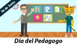 26 de junio. Día del Pedagogo