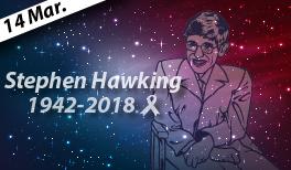 El adiós al investigador del Cosmo: Stephen Hawking