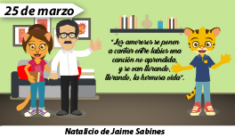 25 de marzo: Natalicio del poeta Chiapaneco Jaime Sabines Gutiérrez