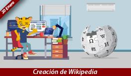 20 de enero. Creación de Wikipedia