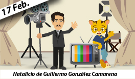 17 de febrero: Natalicio de Guillermo González Camarena