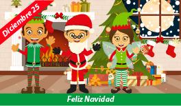 25 de Diciembre. Celebración de la Navidad