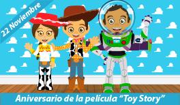 22 de noviembre: Aniversario de Toy Story