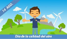 14 de Agosto: Día Interamericano de la Calidad del Aire