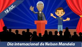 18 de Julio. Día Internacional de Nelson Mandela