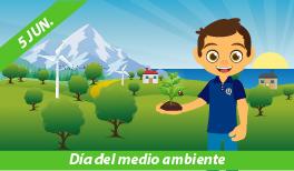 05 de Junio: Día Mundial del Medio Ambiente