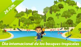 26 de Junio. Día Internacional de la Preservación de los Bosques Tropicales