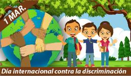 1 de Marzo. Día Internacional de la Cero Discriminación