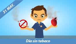 31 de Mayo. Día Mundial sin Tabaco