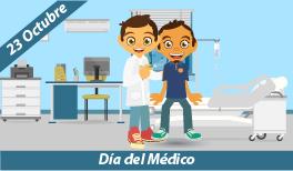 23 de Octubre. Día del Médico en México