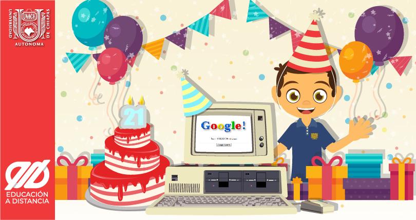 27 de Septiembre. Aniversario de Google