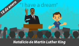 18 DE ENERO. NATALICIO DE MARTIN LUTHER KING