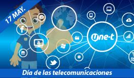 17 DE MAYO. DÍA MUNDIAL DE LAS TELECOMUNICACIONES Y LA SOCIEDAD DE LA INFORMACIÓN.
