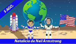 5 DE AGOSTO. NATALICIO DE NEIL ARMSTRONG