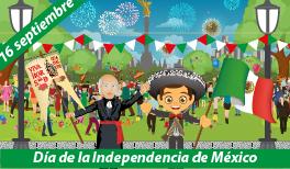 16 DE SEPTIEMBRE. INICIO DE LA INDEPENDENCIA DE MÉXICO
